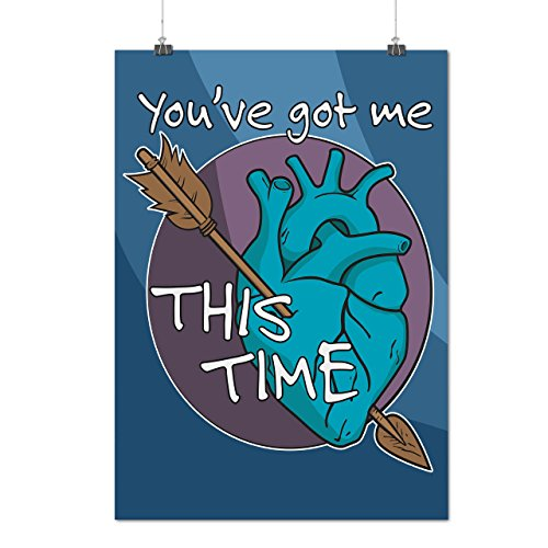 Kostüme Bekam (Sie Bekam Mich Liebe Valentine Liebe Hurts Mattes/Glänzende Plakat A4 (30cm x 21cm) |)