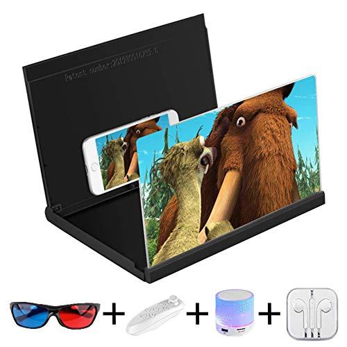 14 '' HD-Bildschirmlupe Smartphone-Lupe Anti-Strahlung Vergrößerer Bildschirm für Mobiltelefon Film-Video-Bildschirmverstärker Mini-Heimkino