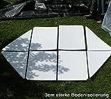 Florino Foliengewächshaus Gewächshauszelt Überwinterungszelt Größe M - 2