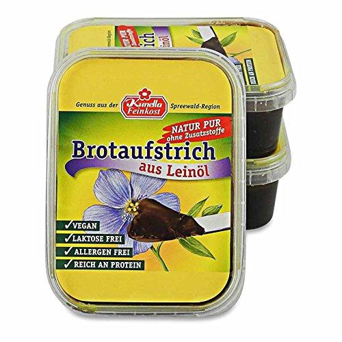 Brotaufstrich aus Leinöl, vegan 3er Pack (3 x 200g)