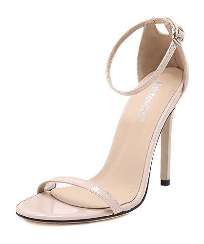 Chaussure A Talon Femme Beige