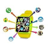 nisels Reloj Educativo de la Infancia del Reloj de Pulsera del niño Reloj de Juguete de la música del Juguete para la Muchacha del Muchacho