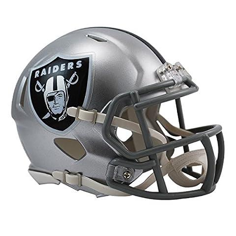 NFL Oakland Raiders Official Mini Replica Helmet - 13cm High