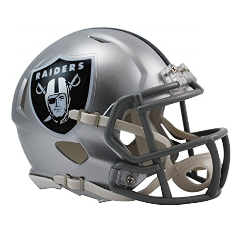 NFL Oakland Raiders Official Mini Replica Helmet - 13cm High Test