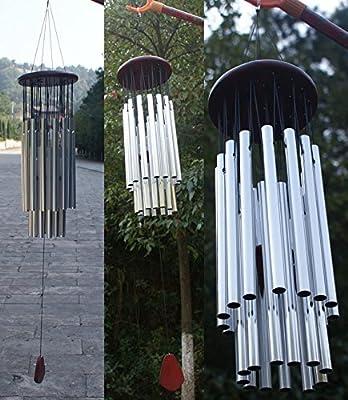 EQLEF® Klangspiele Handgefertigt alte geistige Fachröhrenrostwindspiel Metall Wind Chime Vogel hängt Ornament Windbell von EQLEF® bei Du und dein Garten