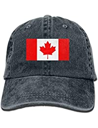 deyhfef Men And Women Canadian Flag Vintage Jeans Baseball Berretto Unisex17 48020a216e1a