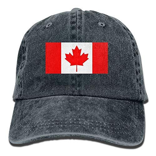 deyhfef Men and Women Canadian Flag Vintage Jeans Baseball Deckel Unisex17