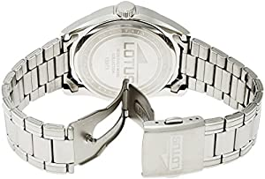 Lotus 15971/4 - Reloj de pulsera hombre, Acero inoxidable, color Plateado de Lotus