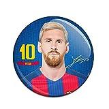 #9: F.C. Barcelona Button Badge Lionel Messi