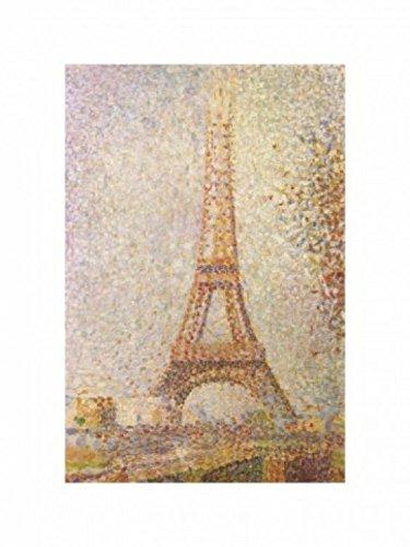 1art1 10784 Georges Seurat - Der Eiffelturm, 1889 Poster Kunstdruck 40 x 30 cm (Eiffelturm Seurat)