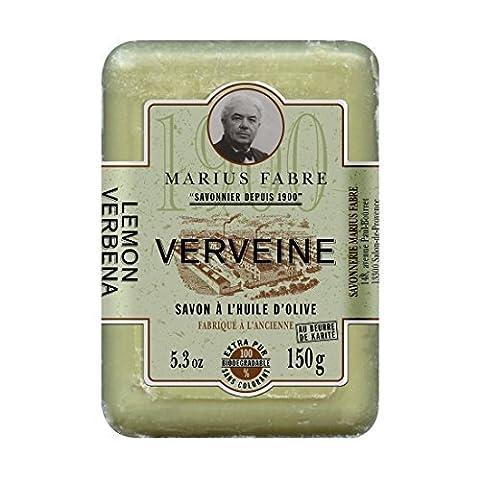 Marius Fabre Savon de Marseille 1900 Shea Butter Hand Soap 150g - Verbena by Marius Fabre