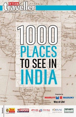 Outlook Traveller Getaways - 1000 PLACES TO SEE IN INDIA