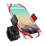 Shoot Universal Fahrrad Handyhalterung Handy Halterung Halter für iPhone X 8 7Plus / 7 / 6s Plus / 6 / 5s / 5 / 4 & Samsung Galaxy S9 S8 S7 S6 Edge / Note 8 Huawei P7/P8/P9 P10 usw.[2018 neue Vision]