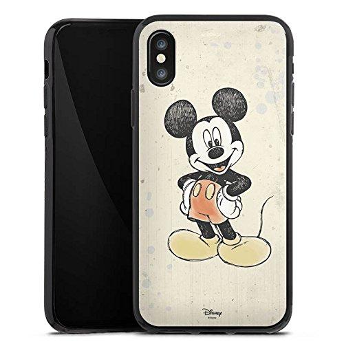 Apple iPhone 6s Silikon Hülle Case Schutzhülle Disney Mickey Mouse Merchandise Geschenke Silikon Case schwarz