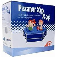 XIP XAP-kit para el tratamiento del agua de minipiscine Contiene XIP 0,5 L. De antialghe y XAP Dicloro 56 de 0,5 kg
