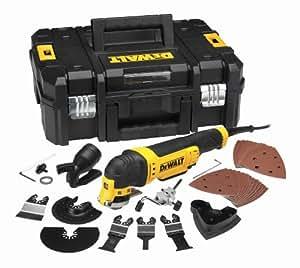 DeWalt Multifunktionswerkzeug Universal DWE315KT - Schleifer, Säge, Spachtel & Universalmesser in einem Gerät   Oszillierendes Werkzeug mit Koffer   37-teiliges Werkzeug Set   300W