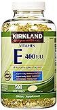 Kirkland Signature Vitamin E 400 I.U. 50...