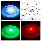 LED Frisbee Scheibe - der leuchtende Flying Disk auch am