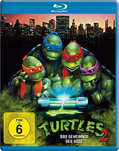 Turtles 2 - Das Geheimnis des Ooze [Blu-ray] (Teenage Mutant Ninja Turtles 2 Shredder)