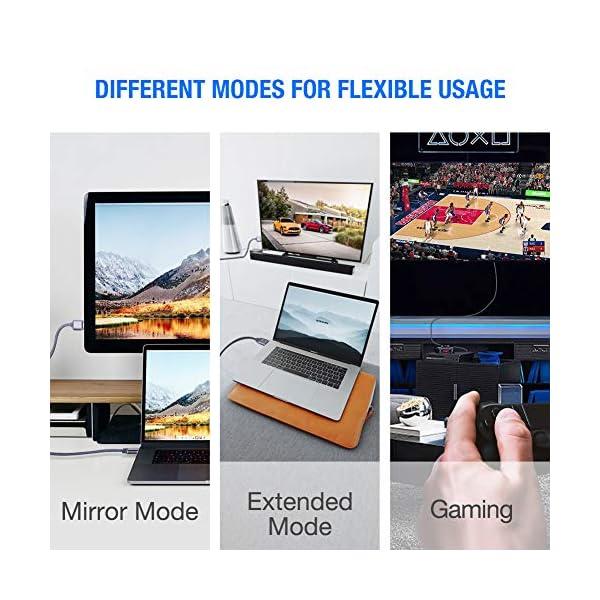 4K@60HZ Cable HDMI 2M PS4//PS3//PC-Gris Xbox Snowkids Plano HDMI 2.0 de Ultra Alta Velocidad 18Gbps Soporte 3D UHD 2160P Ethernet HDCP 2.2 ARC /Último Est/ándar Fire TV Compatible