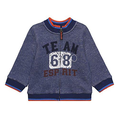 ESPRIT Baby-Jungen Strickjacke RK17012 Blau (Deep Indigo 491), 62
