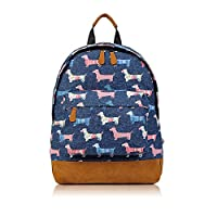 SALE - Childrens Designer Style Canvas Print Backpack Bag - JC Kids