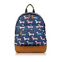 SALE - Childrens Designer Style Canvas Print Backpack Bag - JC Kids