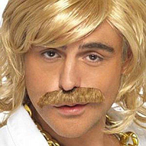 Spiel Show Host Mustache & Perücke Kit - Ingwer