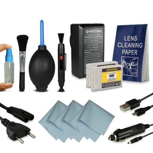 Power Kit Koncia DR-LB4 / Minolta NP500, NP600 + Kit di pulizia professionale per Konica DR-LB4 | KD-310Z | KD-400Z | KD-410Z | KD-420Z | KD-500Z | KD-510Z | KD-520 | Minolta Dimage G400 | G500 | G530 | G600 | Praktica EXAKTA DC 4200 | Concord Eye-Q 4342z | Fujitsu-Siemens CX 431 | Rollei dt4000 | Prego DP4000