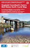 Mid-Wales North Cycle Map (National Cycle Network Route Maps)