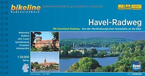 Havel Radweg Mecklenburgischen Seenplatte - Elbe GPS wp Scale: 1/50