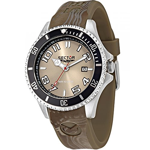 Sektor Watch 43 mm braun Zeit R3251161026 nur 230 Marine