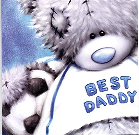 Daddy with Football Me to You Bear Fathers Day Card