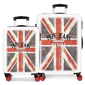 Juego de maletas Pepe Jeans World rígidas 55-68cm Denim