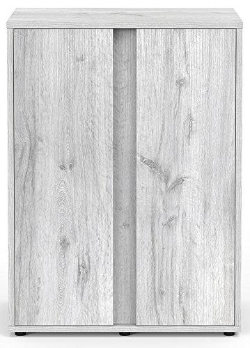 Mueble Acuario Expert 60roble blanco Aquatlantis