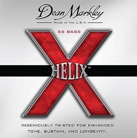 Dean Markley Helix SS DM-2614B-ML 45-128 Bassgitarrensaiten, Medium Light (5 Stück)