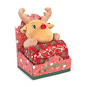 Muñeco Peluche Navidad Reno con