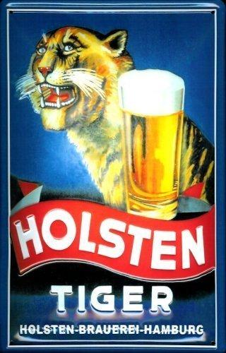 tiger-holsten-tin-sign-sheet-metal-tin-metal-sign-20-x-30-cm