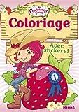 Charlotte aux Fraises - Coloriage avec stickers