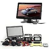 Rückfahrkamera inkl. Monitor - Bis zu 5 Jahre Garantie für LKW, Bus & Transporter. Heck Hinten & Vorne mit 15M Videokabel. Truck Rear View Camera Kamera
