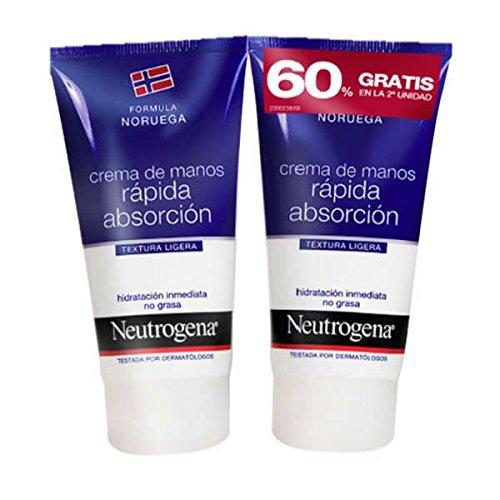 Neutrogena - Duplo crema de manos rápida absorción