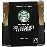STARBUCKS Pack de 4 Doubleshot Espresso 800 ml - Lot de 3