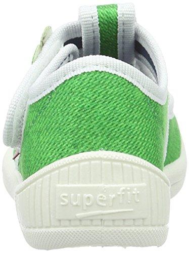 Superfit Bully, chaussons d'intérieur garçon Vert