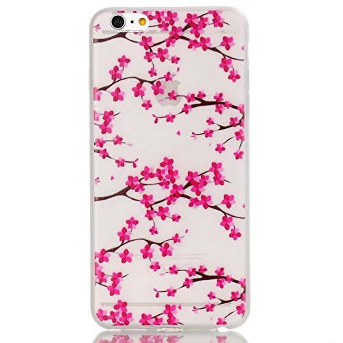 Beiuns pour Apple iPhone 5 5G 5S / iPhone SE (4 pouces) Coque en Silicone TPU Housse Luminieuse Coque - YY515 Attrape rêve coloré YY512 Fleur du prunier