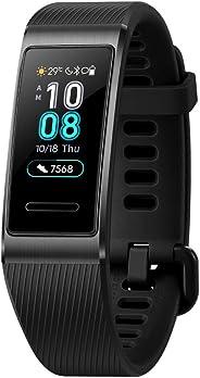 Huawei Band 3 Pro Braccialetto di attività, GPS Integrato, Amoled Tocuhscreen, Unisex adulto, Nero (Obsidian Black)