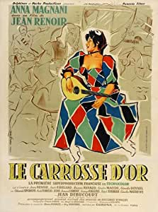 The Golden Coach Affiche du film Poster Movie Le carrosse A d'or (27 x 40 In - 69cm x 102cm) French Style A