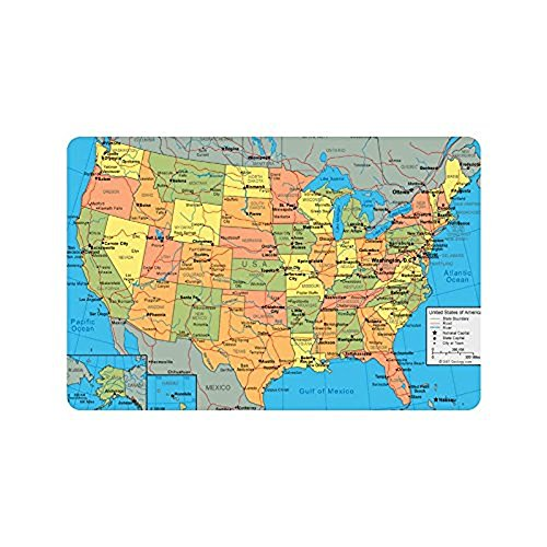 elegant-pattern-cool-gift-united-states-map-american-map-rectangle-entrywaynon-slip-doormat
