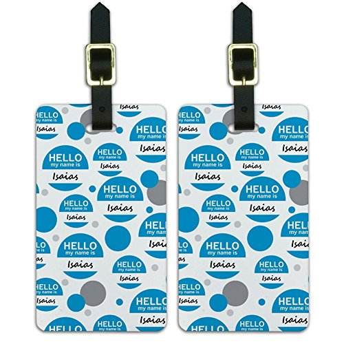 luggage-suitcase-carry-on-id-tags-set-of-2-hello-my-name-is-ia-iz-isaias-hello-my-name-is