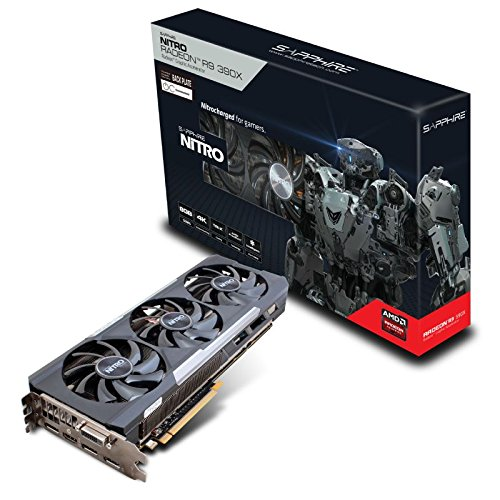 Sapphire Radeon Nitro R9 390x 8gb Gddr5 With Backplate Graphics Card 11241-04-20g