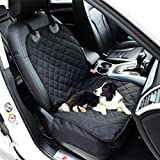 Fluffy's LuxuriousWaterproof Non-Slip Oxford Fabric Pet Seat Cover Dog Cat Car Front Seat Mat for Car Truck Carring Pet Puppy